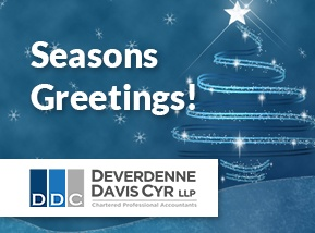 Seasons Greetings from the Deverdenne Davis Cyr Team